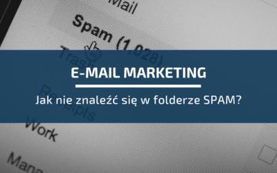 E-mail marketing: jak nieznaleźć się wfolderze SPAM